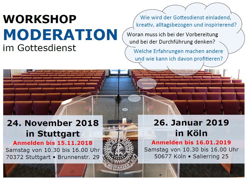 Moderationsworkshop