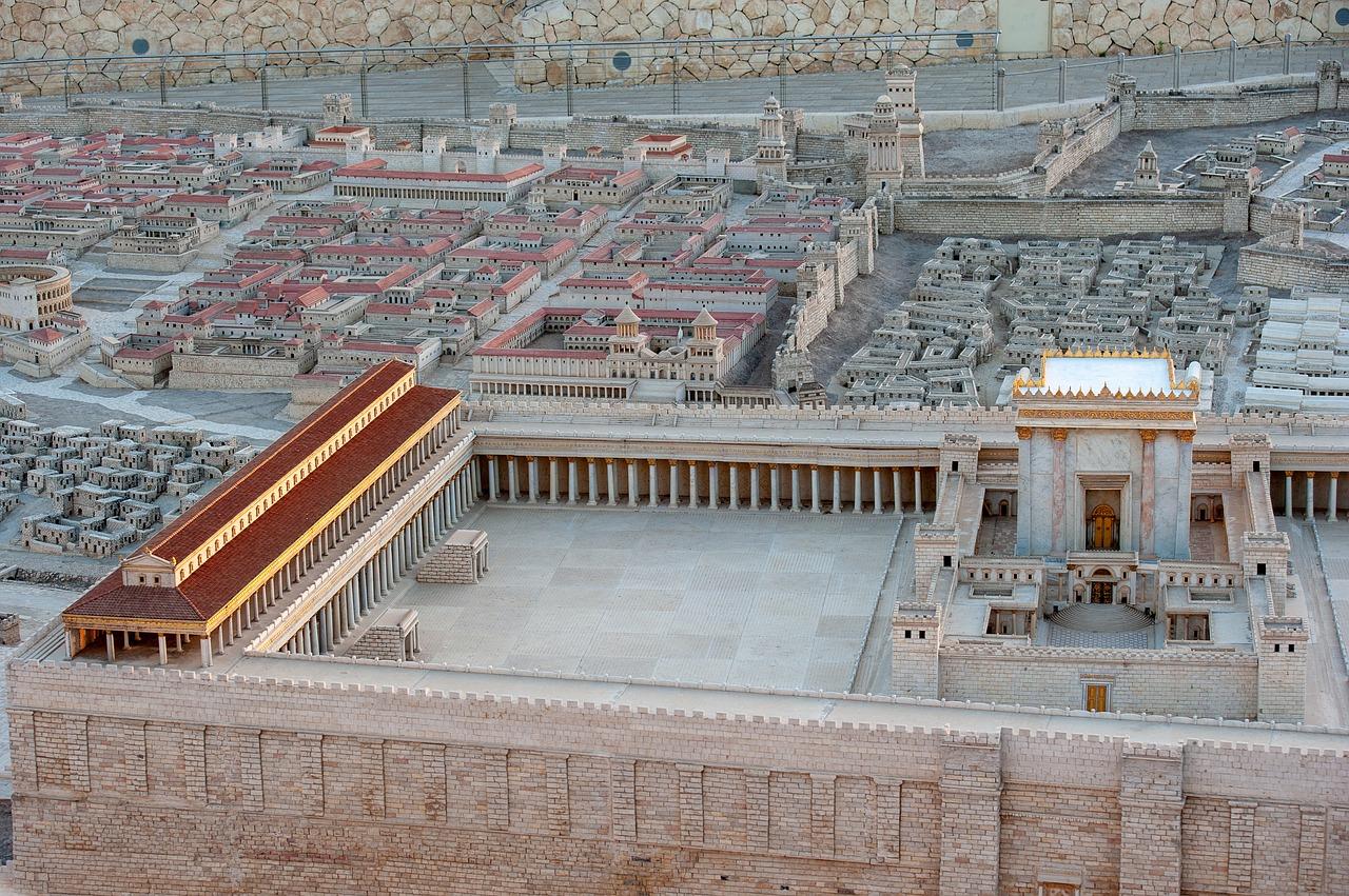 Tempel in Jerusalem (Modell)